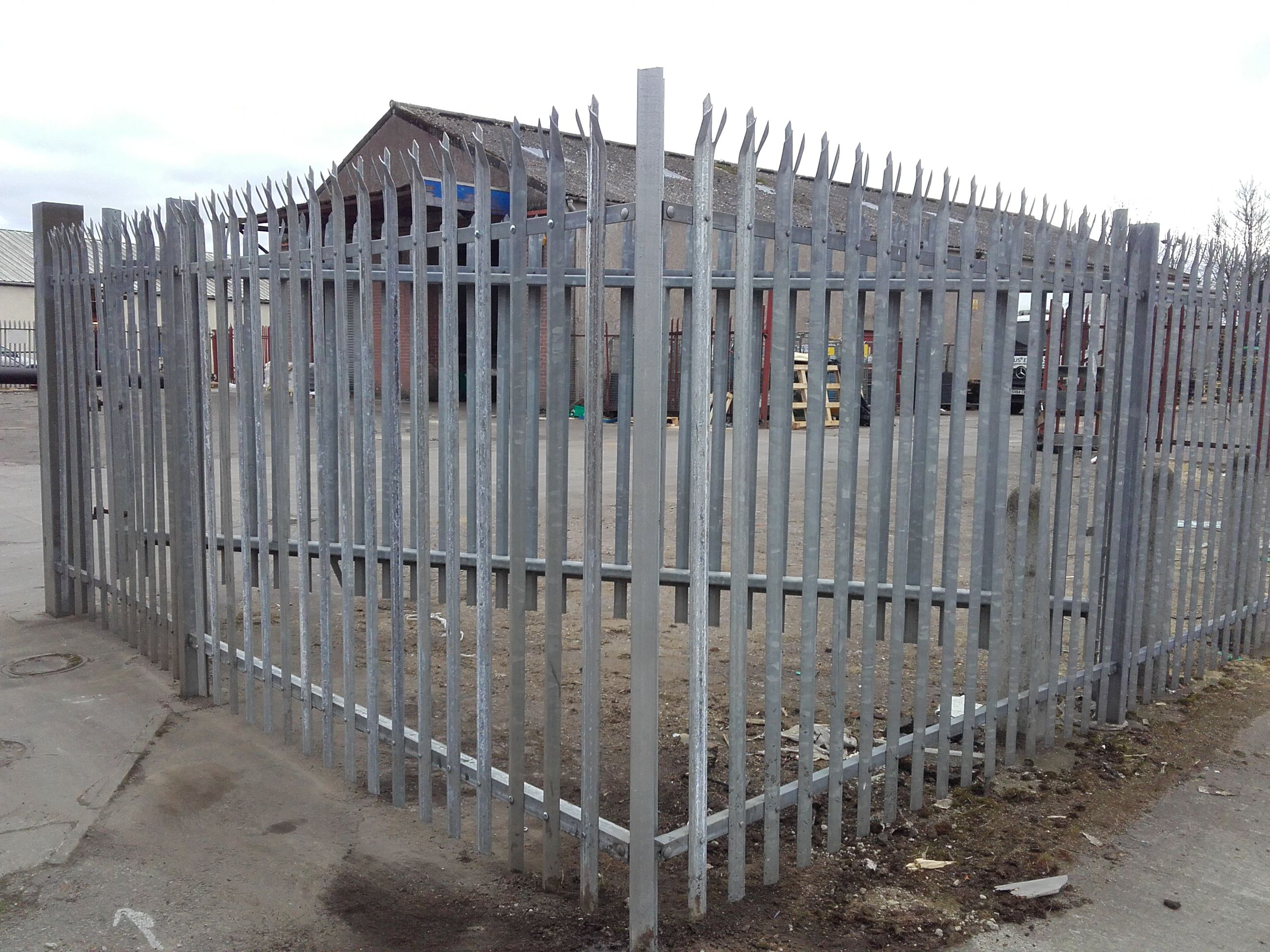Repaired Fence